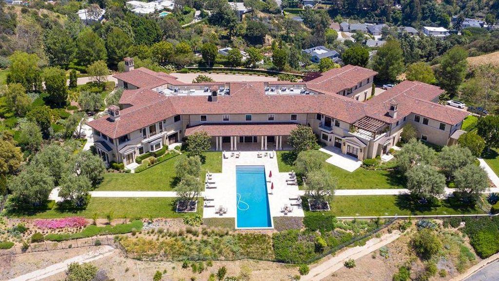 Foto: Rumah Rp 270 M yang Ditempati Meghan Markle dan Pangeran Harry di LA