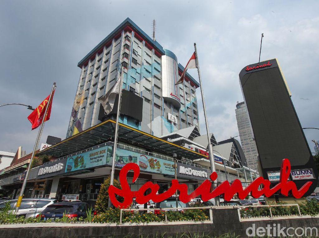 34 Penyewa di Sarinah Diminta Tutup: Restoran hingga Minimarket