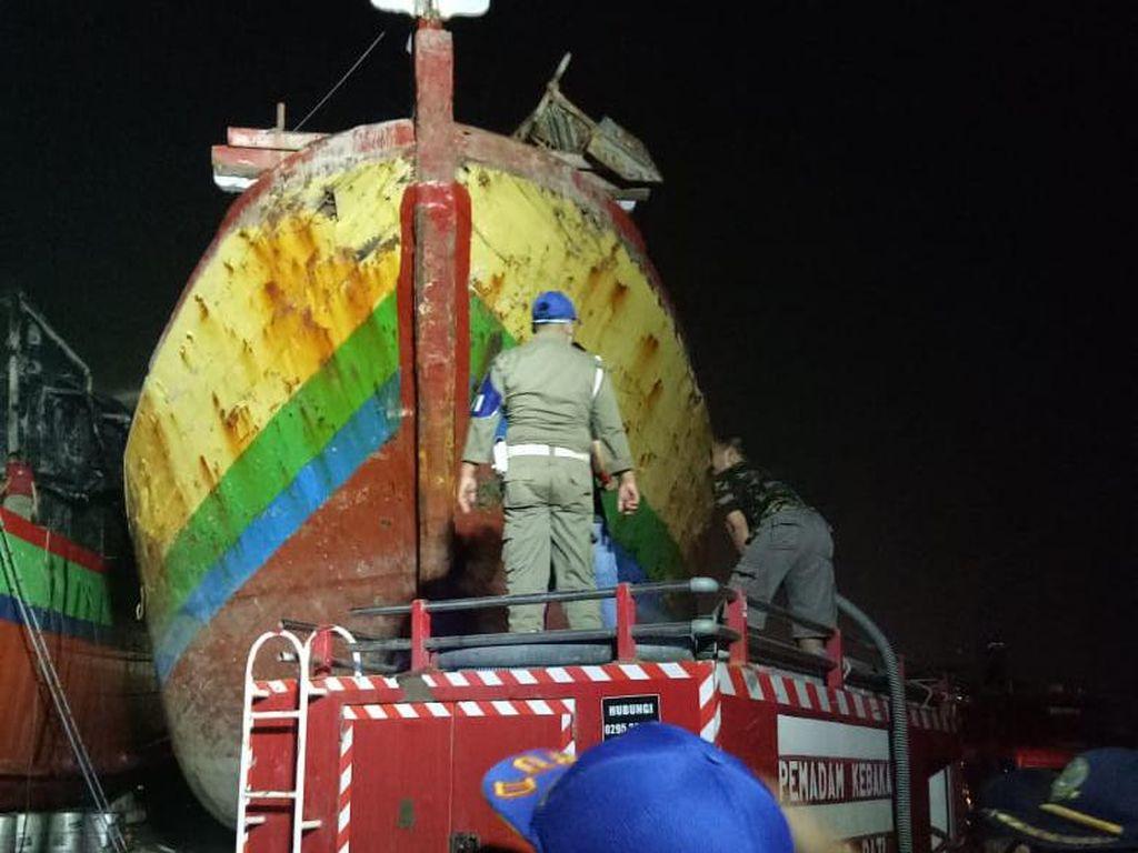 Kapal Terbakar di Juwana Pati 2 Unit, Kerugian Ditaksir Rp 4 Miliar