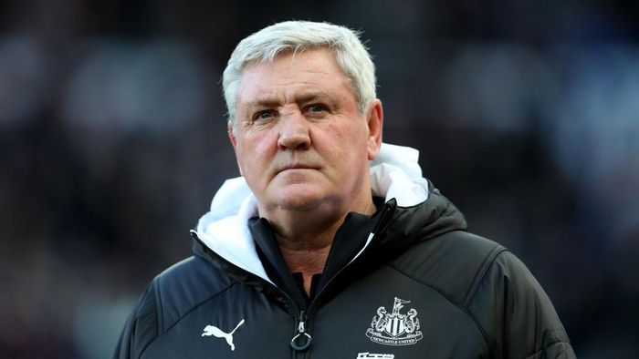 NEWCASTLE UPON TYNE, ENGLAND - FEBRUARY 29: Steve Bruce, Manager of Newcastle United looks on prior to the Premier League match between Newcastle United and Burnley FC at St. James Park on February 29, 2020 in Newcastle upon Tyne, United Kingdom. (Photo by Alex Livesey/Getty Images)