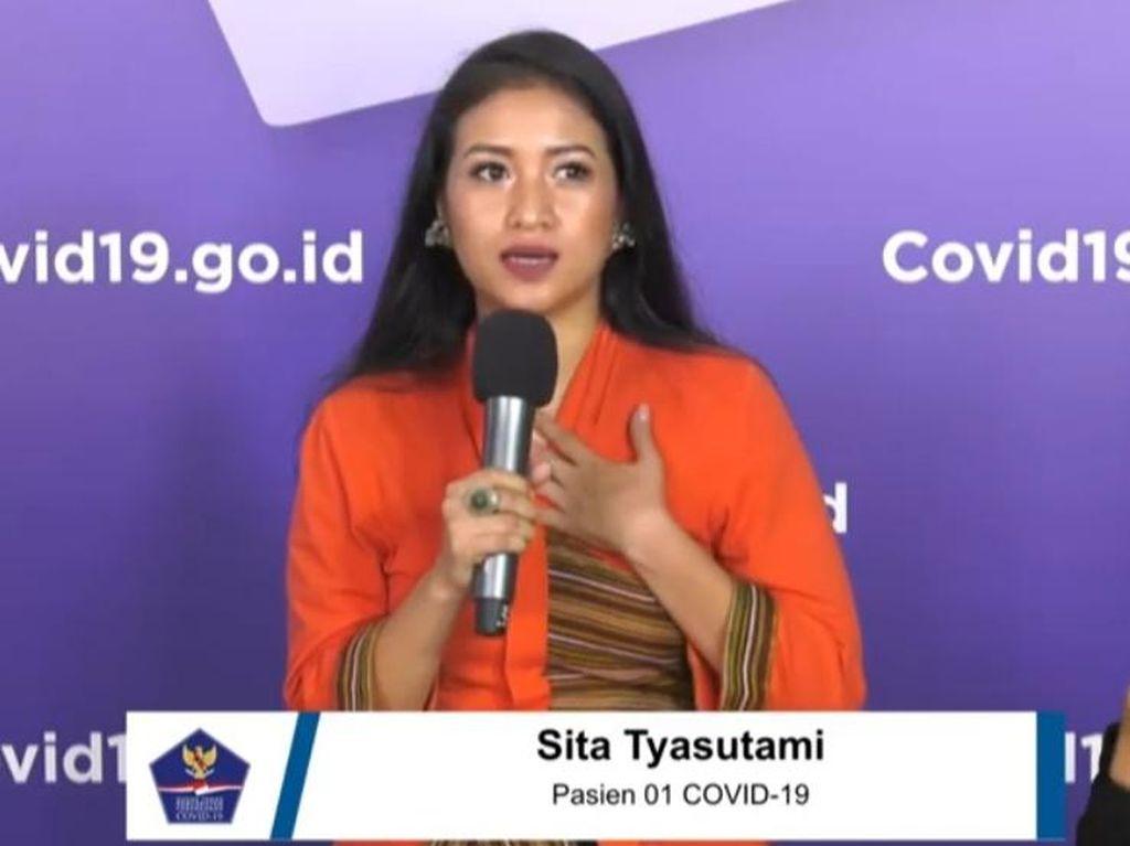 Cerita Pasien 01 Sita Tyasutami Sembuh dari Corona Berkat Berpikir Positif