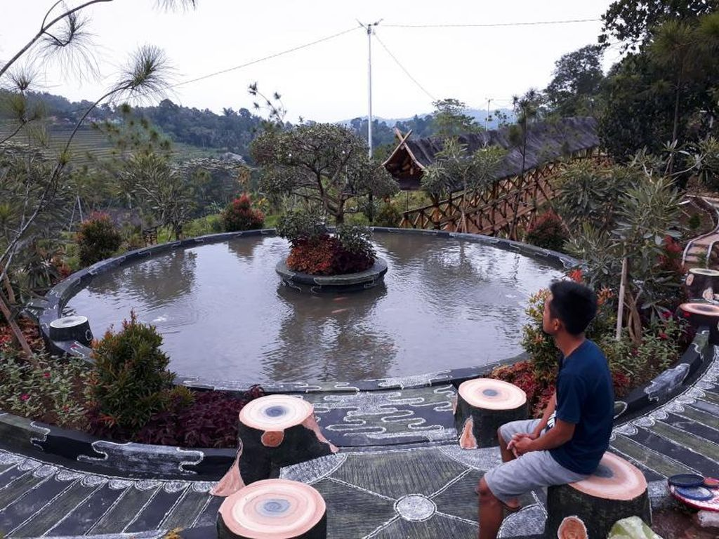 Sore yang Teduh di Kampung Jogjogan, Bogor