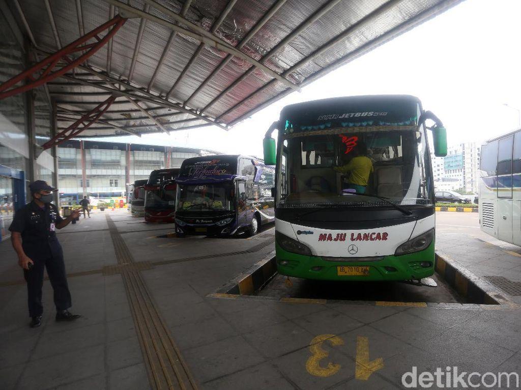 Bus AKAP Beroperasi Lagi, Cuma Angkut 1 Penumpang Tetap Berangkat