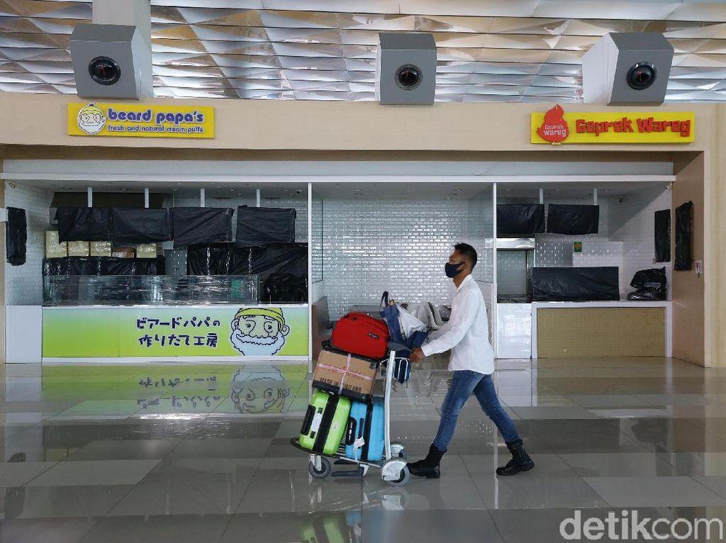 Bandara Soekarno-Hatta Hari Ini: Terminal 1 Kosong, Terminal 3 Sepi
