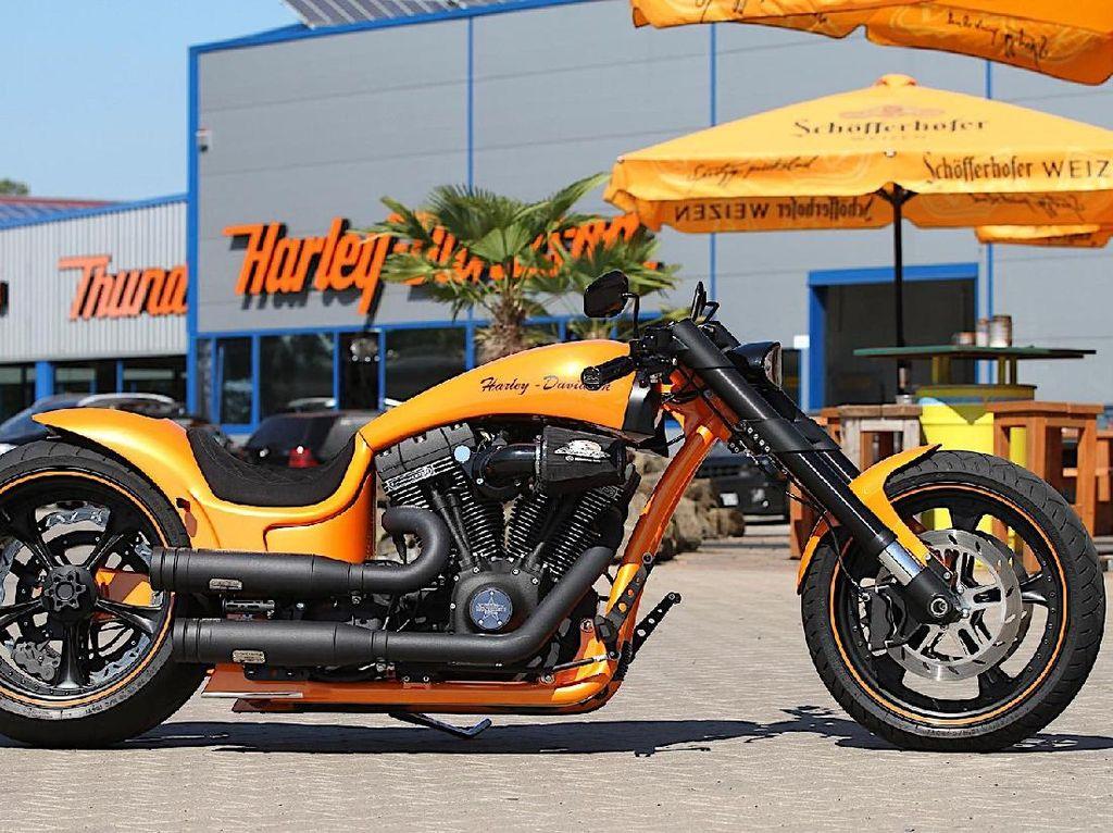 Harley-Davidson Siapkan Teknologi Self-Balancing, Naik Moge Makin Mudah