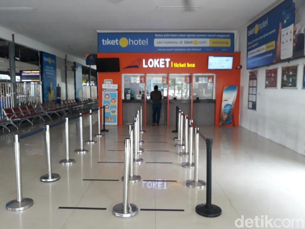 Transportasi Antardaerah Jalan Lagi, Stasiun Balapan Solo Masih Lengang