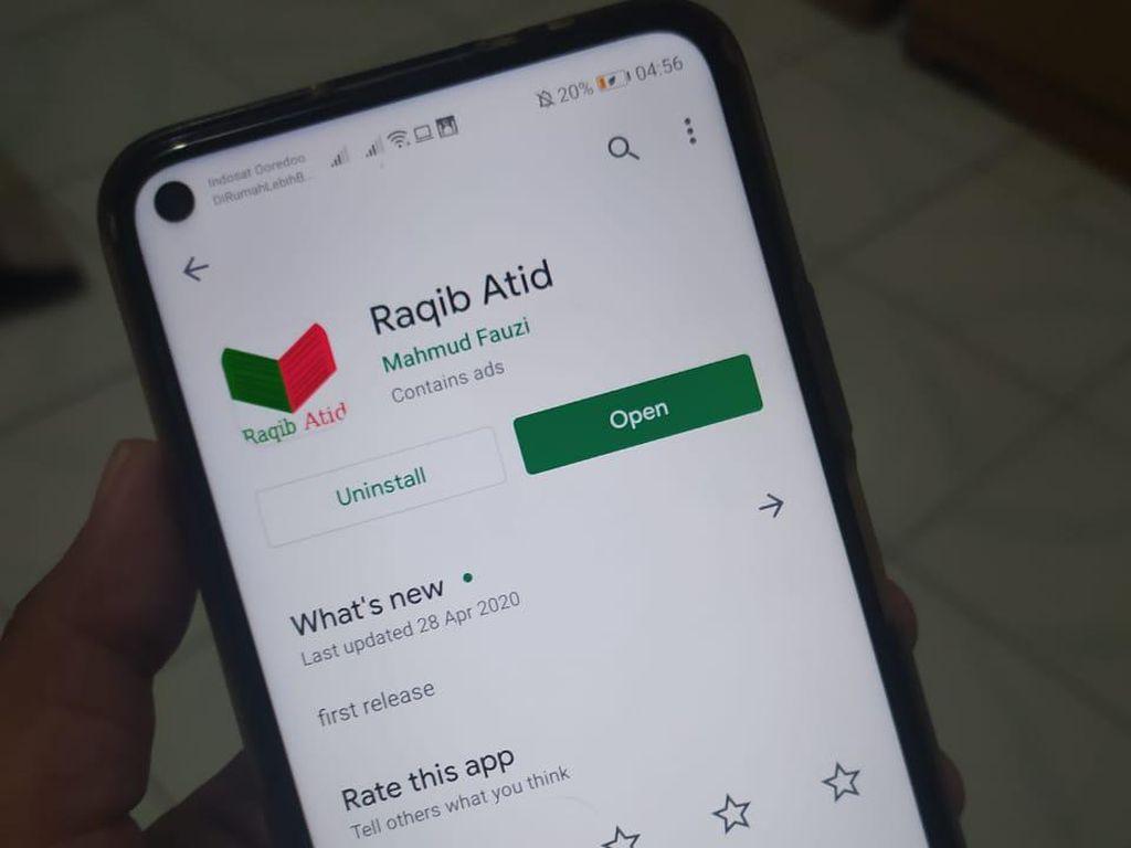 Aplikasi Raqib Atid Ganti Nama