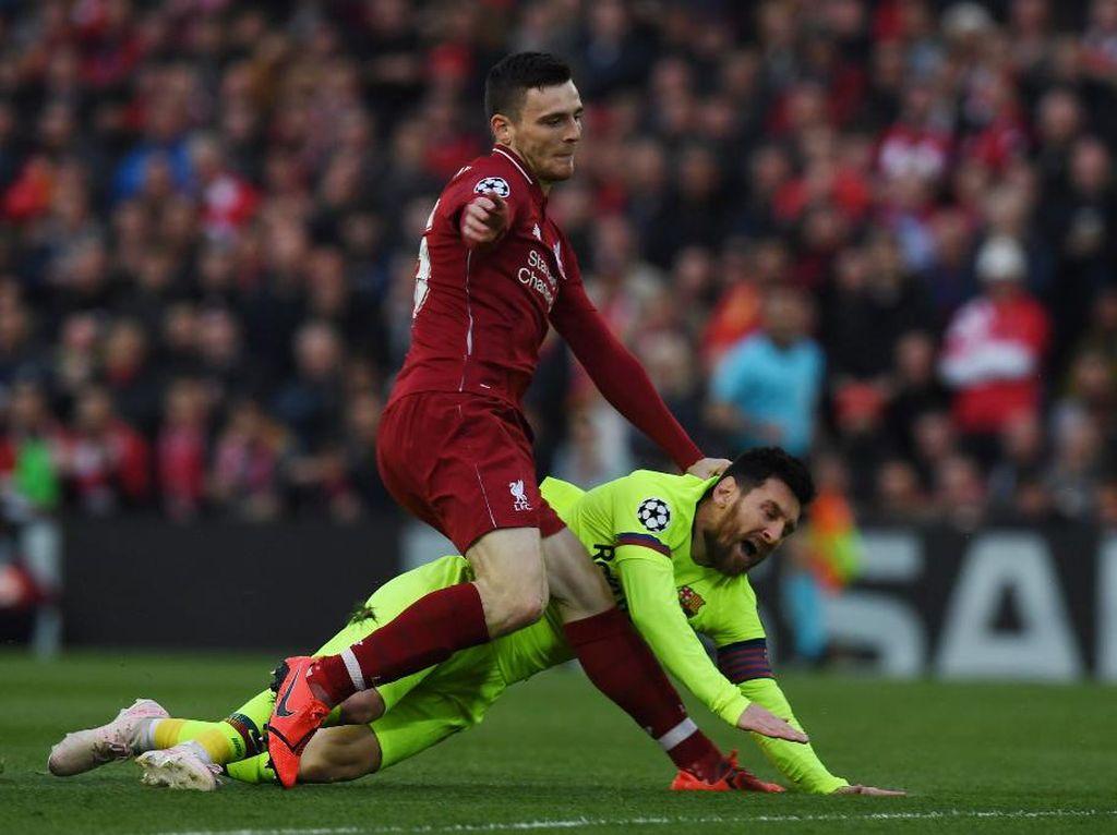 Sesal Robertson Pernah Tidak Sopan pada Messi