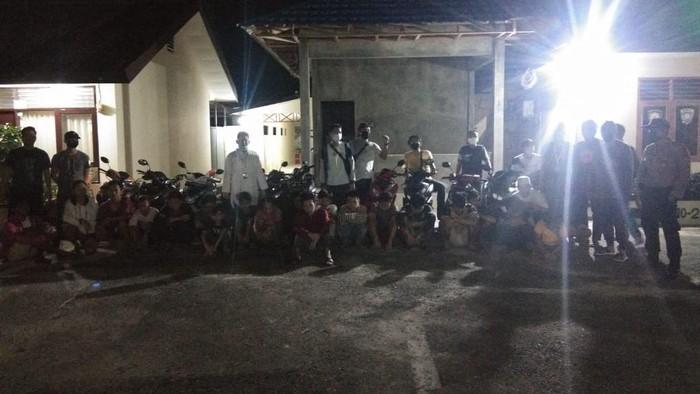 Puluhan Pembalap Liar di Kukar Kaltim Ditangkap Polisi.