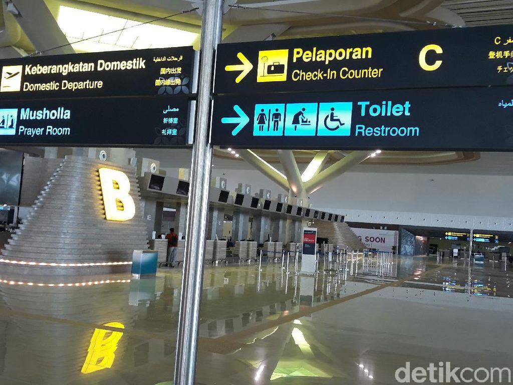 Penerbangan di Bandara Kulon Progo Dibuka, Penumpang Sepi