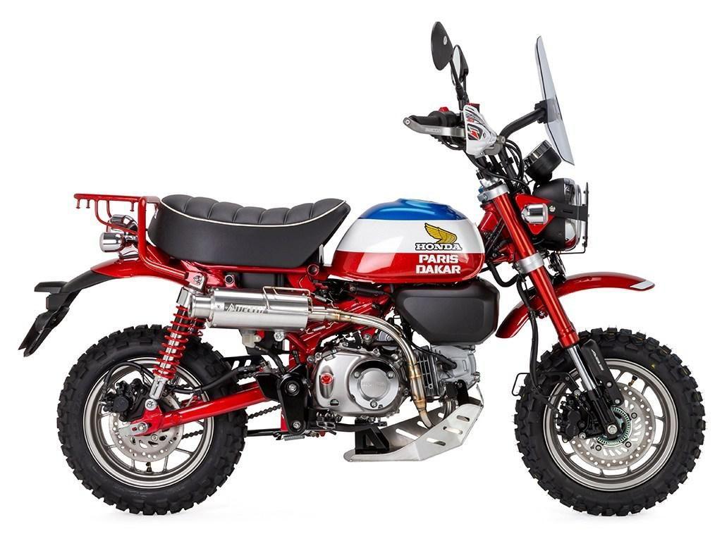 Paket Modifikasi Honda Monkey Reli Paris Dakar, Dijual Mulai Rp 26 Juta