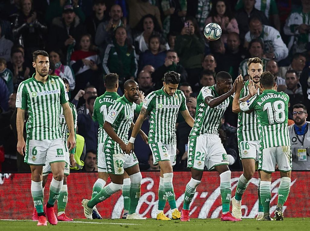 Video Tiga Pemain Real Betis Positif Corona
