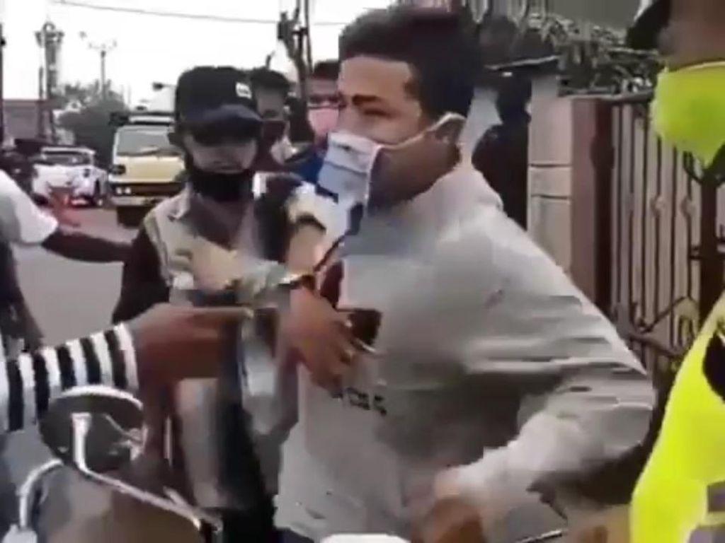 Menyesal, Pemuda Jonggol Marah-marah Ditegur soal Masker Minta Maaf