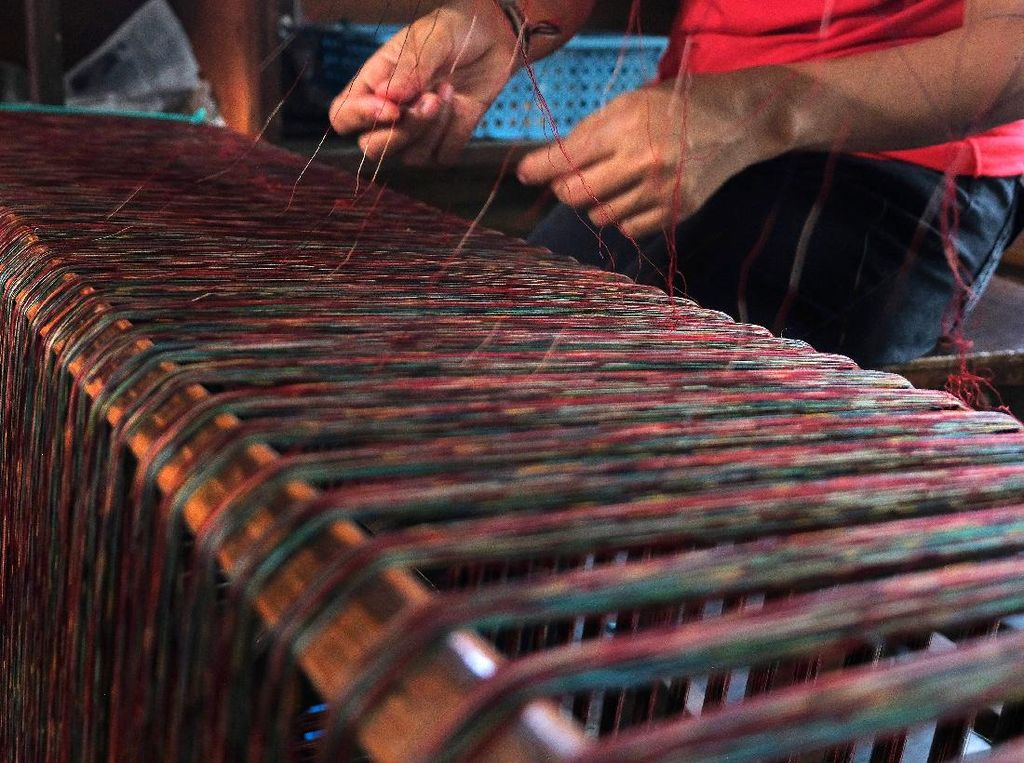 Kain Tenun Endek Bali Diakui Sebagai Kekayaan Intelektual Komunal