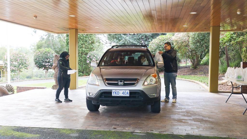 Ada Layanan Takjil Drive-Through untuk WNI di Canberra