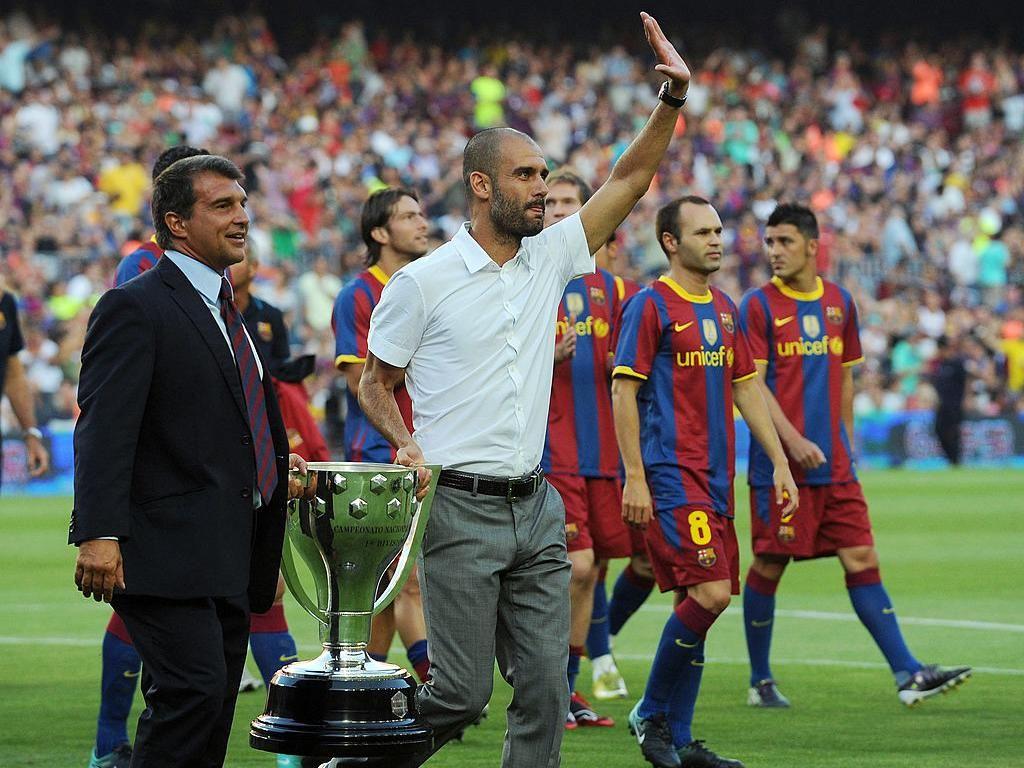 Guardiola Jalani Tugas Mudah di Barcelona karena Warisan Rijkaard