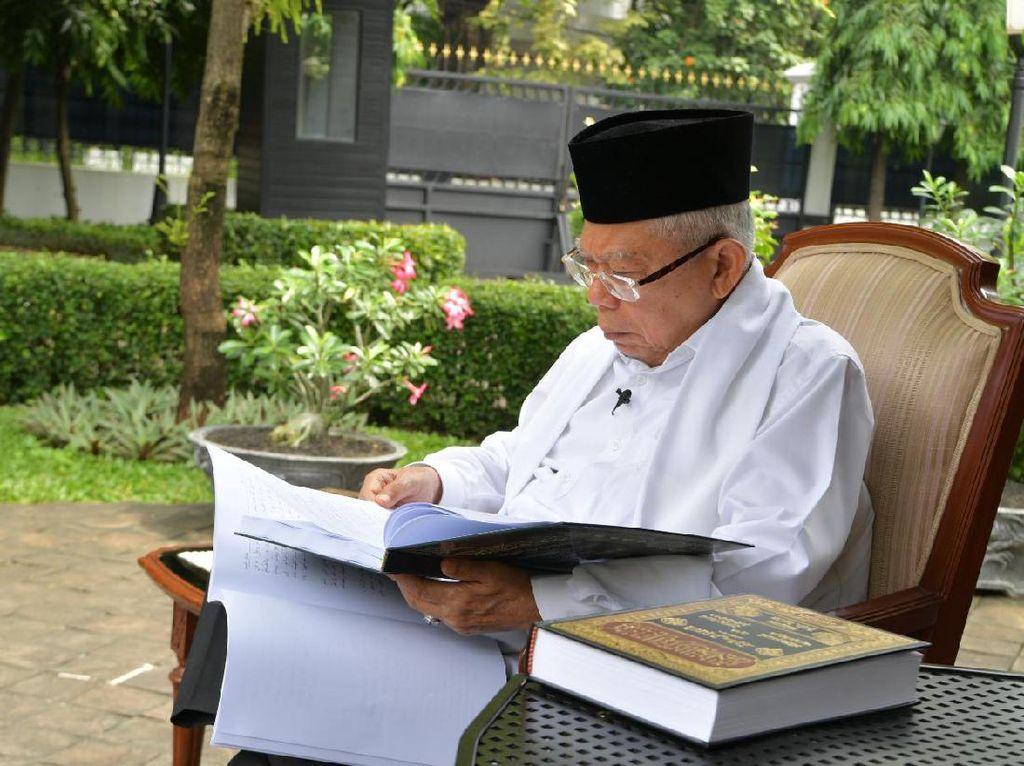 Wapres Maruf: Nuzulul Quran Momen Minta Pertolongan Allah Melawan Corona