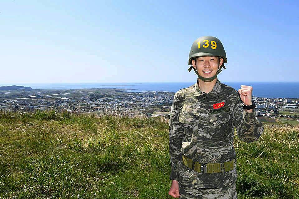 Son Heung-Min saat wajib militer di Korea Selatan