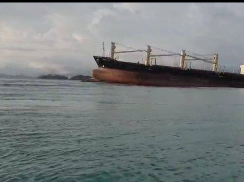 2 Kapal Kandas di Perairan Batam, Kemenhub Kerahkan Kapal Patroli