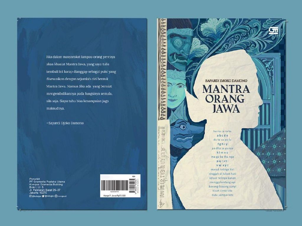 Sapardi Djoko Damono Rilis Terbatas Mantra Orang Jawa saat Pandemi Corona