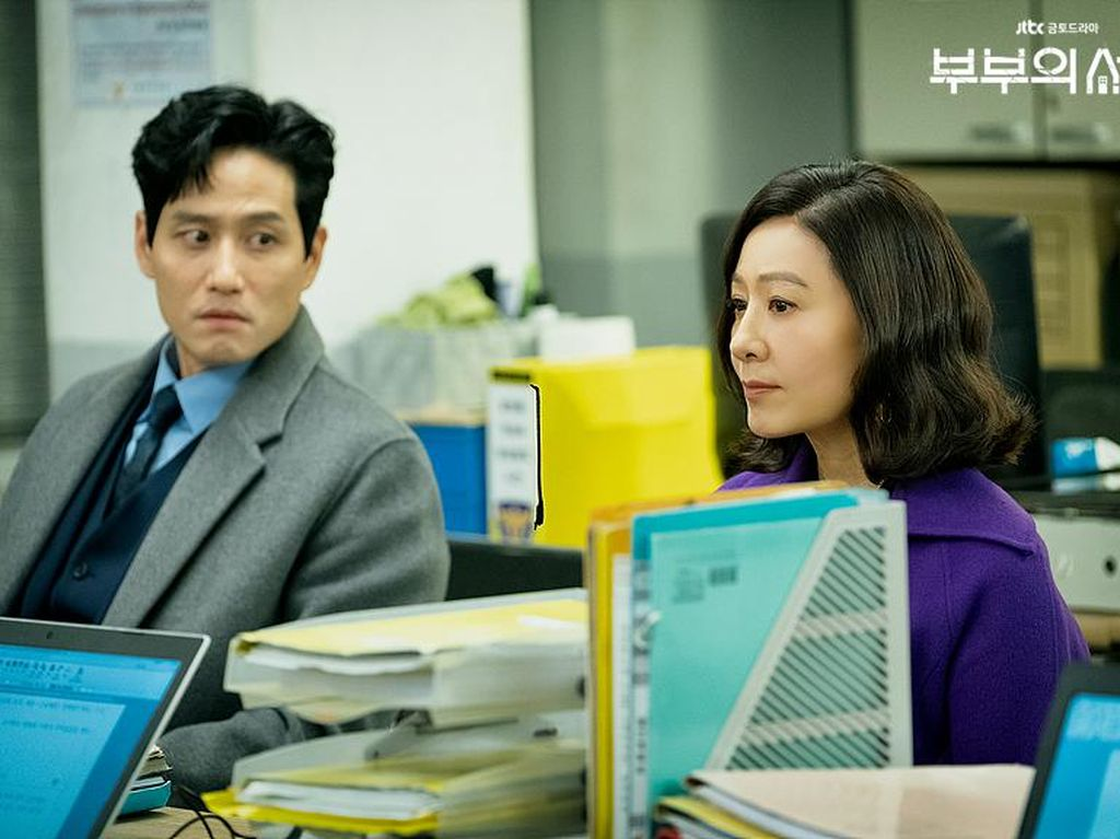 Kim Hee Ae dan Alasan Park Hae Joon Bintangi The World of the Married