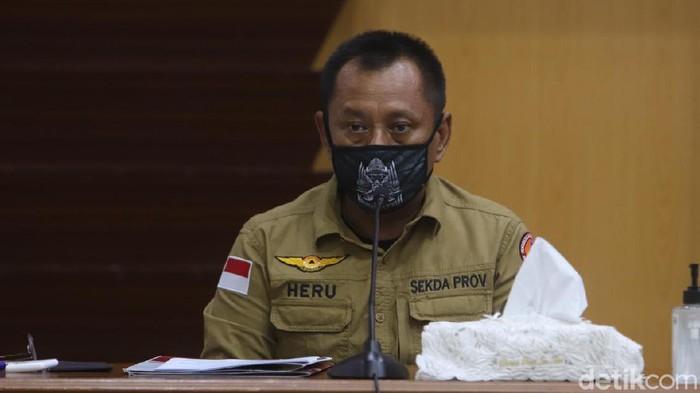 Ketua Gugus Tugas Penanganan COVID-19 di Jatim Heru Tjahjono