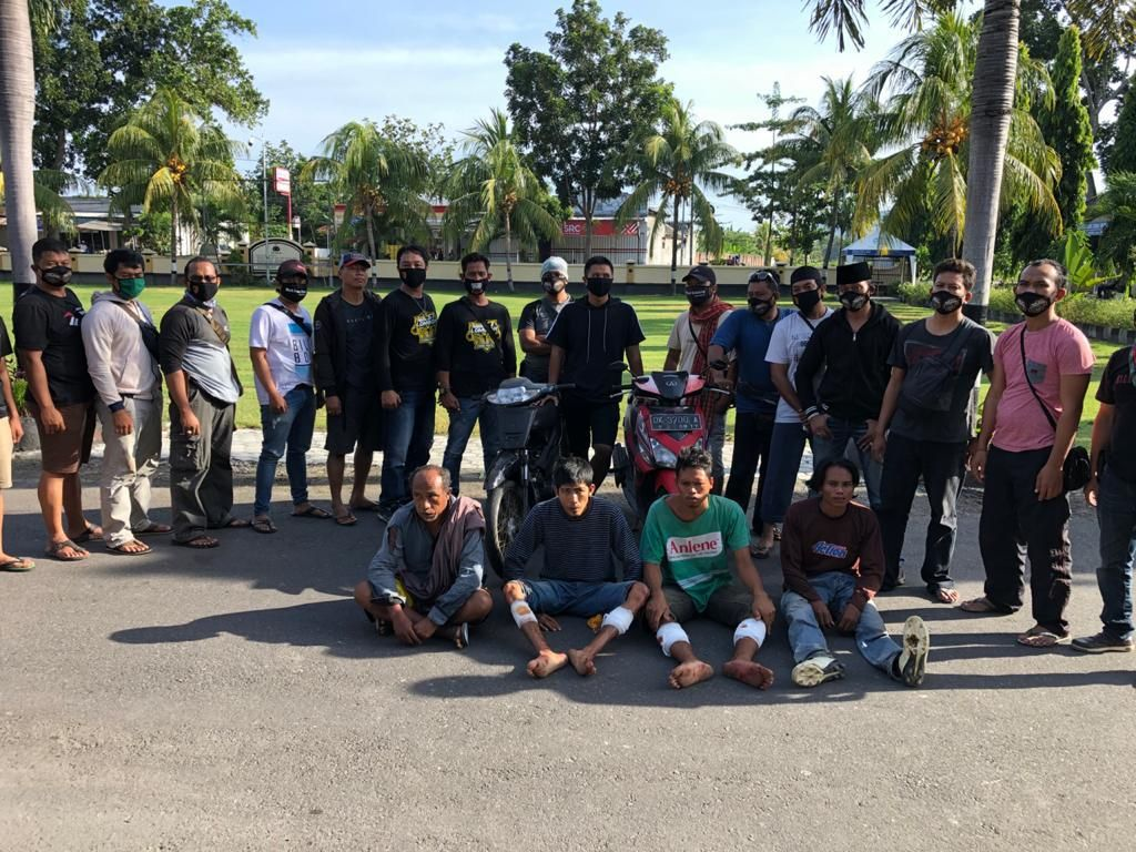 Petani di Lombok Barat Dibunuh dan Motornya Dibegal, 4 Pelaku Diringkus