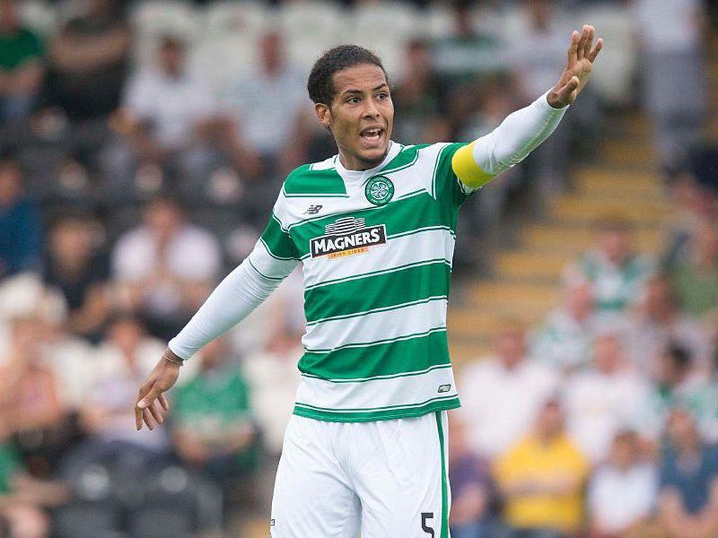 Celtic yang Membentuk Mental Juara Virgil Van Dijk