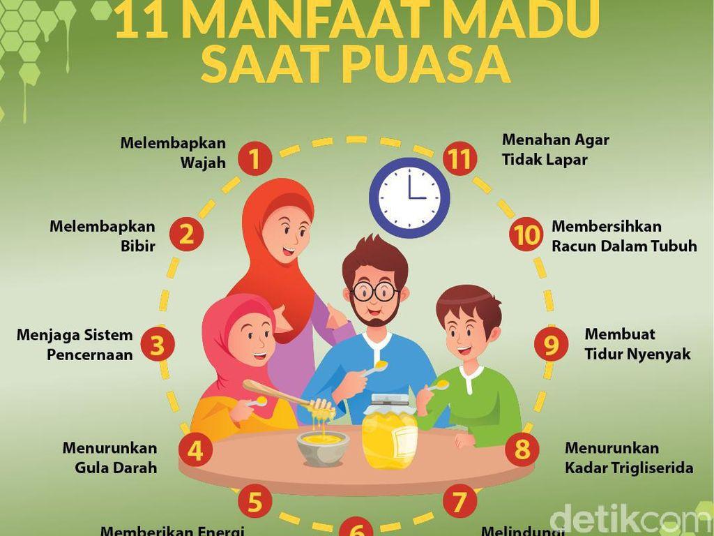 11 Manfaat Madu Saat Puasa