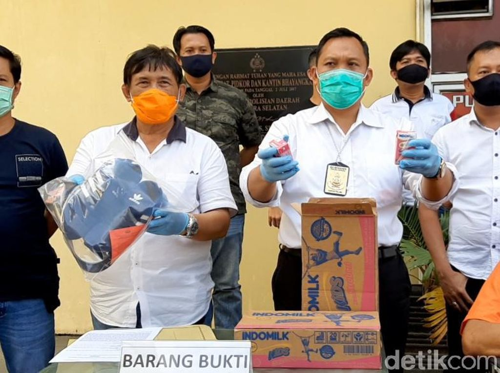 Dor! Polisi Tembak 2 Perampok Truk Pengangkut Susu Kemasan di Sumsel