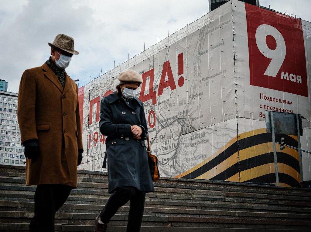 Rusia Catat 8.764 Kasus Corona dalam Sehari, Total Kasus Lampaui 300 Ribu