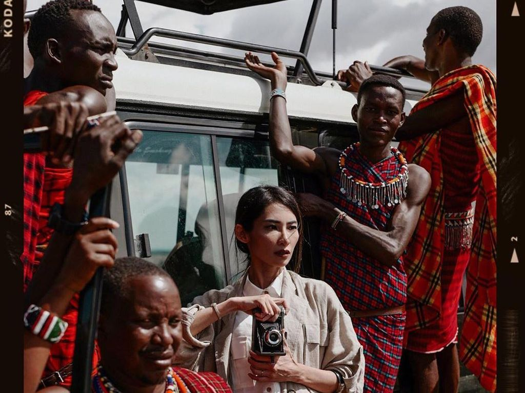 Kenya Jadi Destinasi Favorit Fotografer Fashion Nicoline Patricia