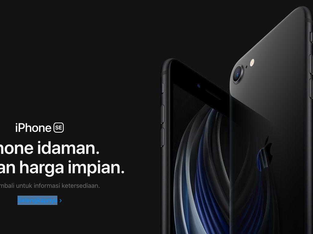 iPhone SE Sudah Mejeng di Website Apple Indonesia