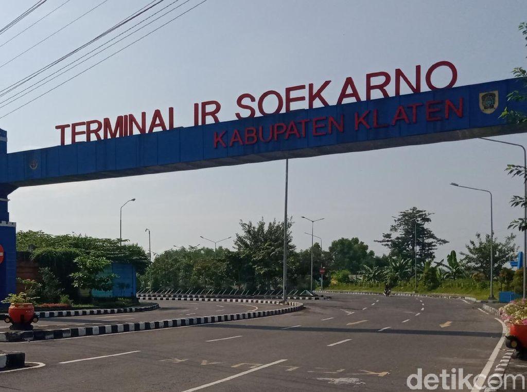 Terminal-Stasiun Klaten Nihil Pemudik Hari Ini, Terakhir 1 ABK Tiba Kemarin