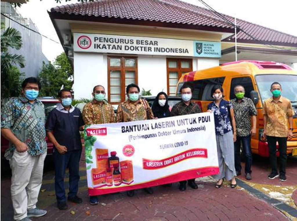 Aksi Nyata LASERIN Turut Lawan COVID-19 di Indonesia