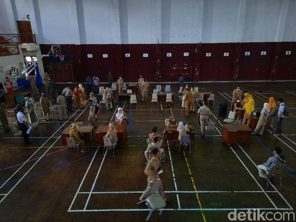 1.340 Pengunjung Indogrosir Sleman Ikut Rapid Tes