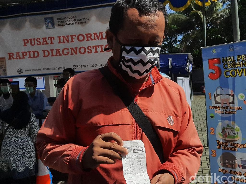 Kecewanya Warga yang Ditolak Ikut Rapid Test Klaster Indogrosir Sleman