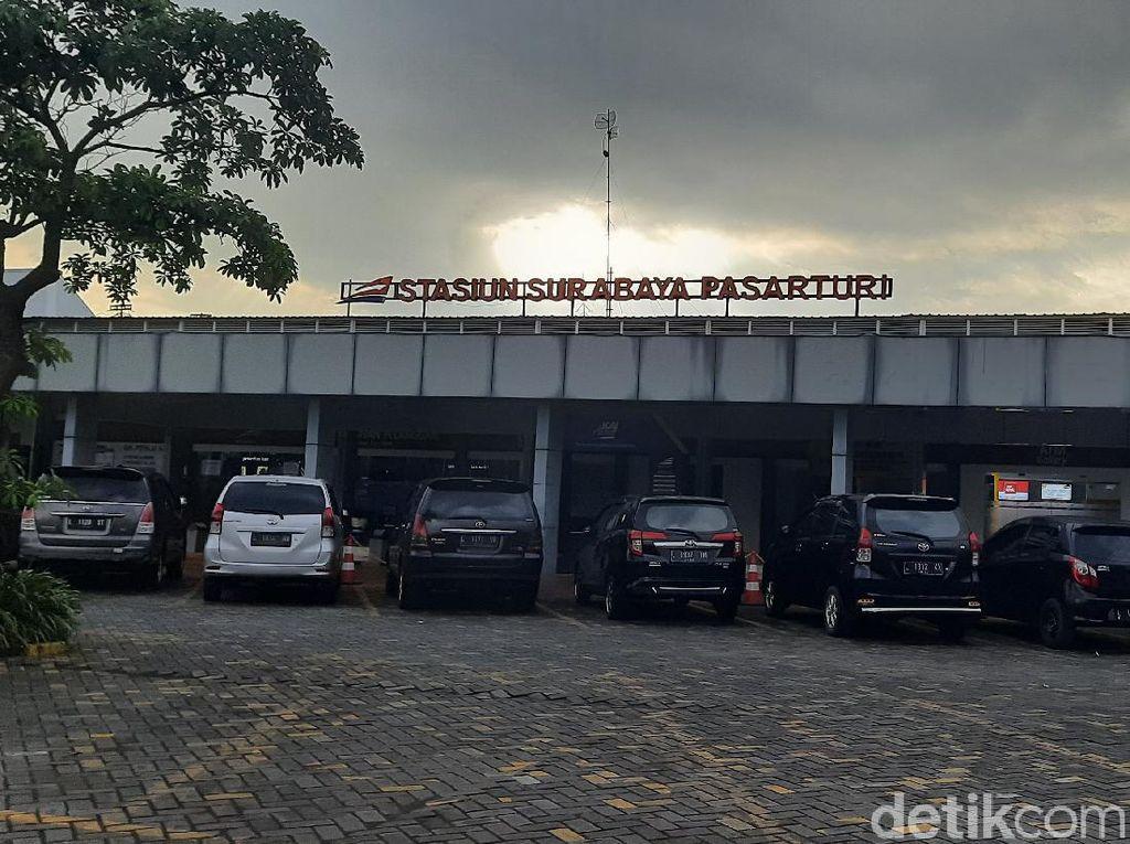 Kereta Luar Biasa Dibuka Sepekan di Surabaya, 224 Penumpang Naik, 22 Ditolak