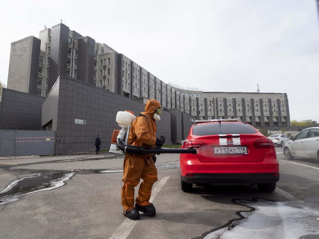 Rusia Setop Pemakaian Ventilator yang Diyakini Jadi Penyebab Kebakaran RS