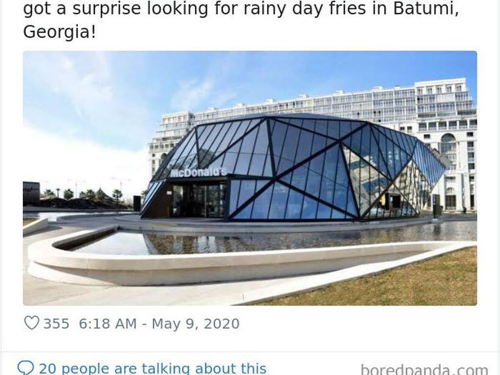 Gedung-Gedung McDonalds yang Tidak Biasa