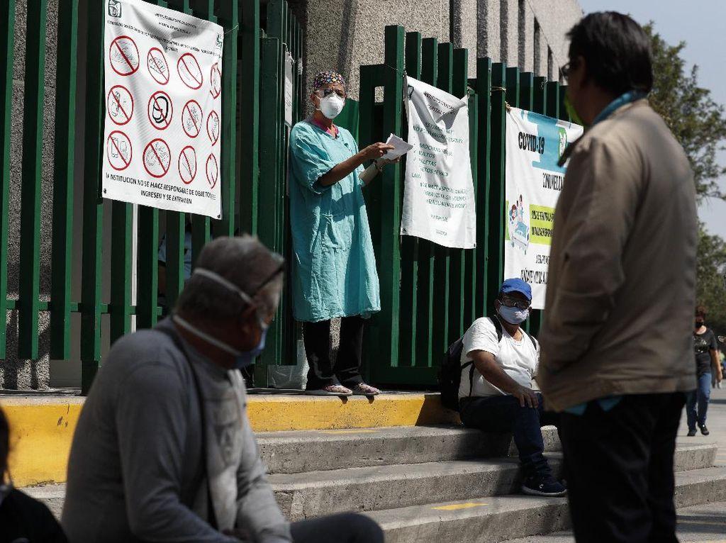 Geser Italia, Meksiko Catat Kematian Akibat Corona Tertinggi ke-4 Dunia