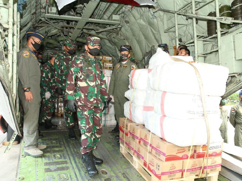 TNI Kirim Bantuan untuk Korban Topan Harold di Fiji