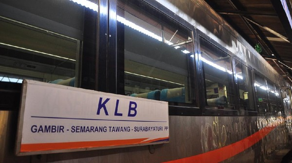 Kereta api luar biasa beroperasi mulai Selasa (12/5/2020)