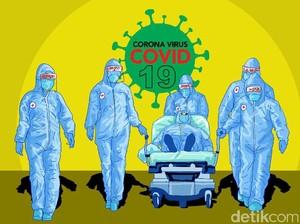 IDI: 4 Dokter Meninggal Akibat COVID-19 dalam 24 Jam, Total 115 Orang