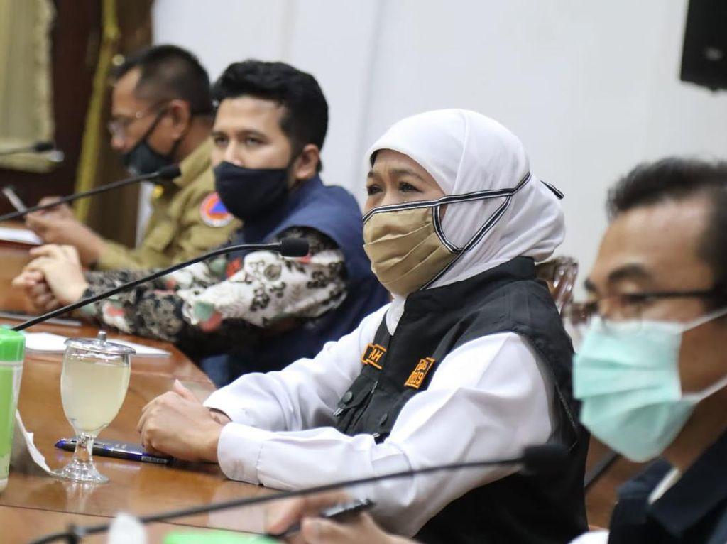 Khofifah: PSBB Malang Raya Disetujui Menkes Diharap Tekan COVID-19
