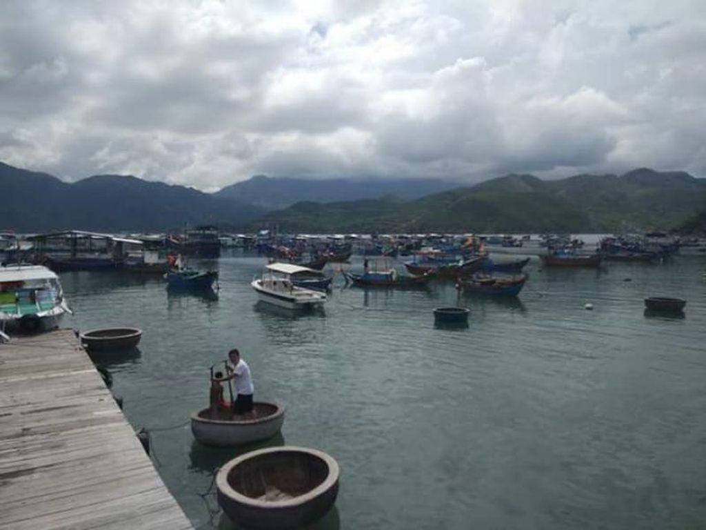 Potret Kampung Nelayan Nha Trang yang Bikin Betah