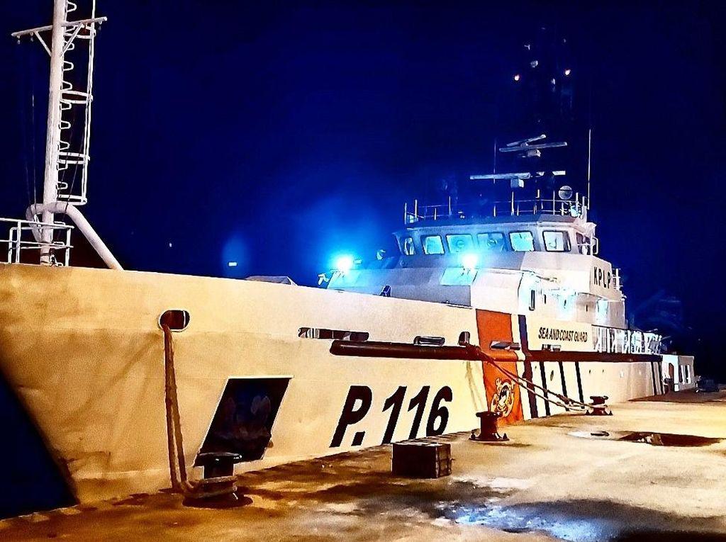 Tenggelam di Sungai Barito, 3 Nelayan Diselamatkan Kapal Patroli Kemenhub
