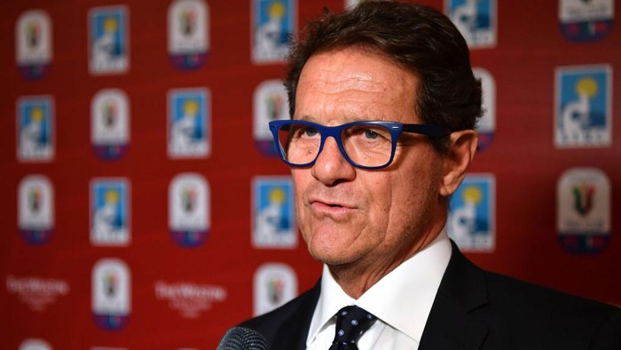 ROME, ITALY - MAY 13:  Fabio Capello attends during the Charity Gala Dinner on May 13, 2019 in Rome, Italy.  (Photo by Valerio Pennicino/Getty Images for Lega Serie A)