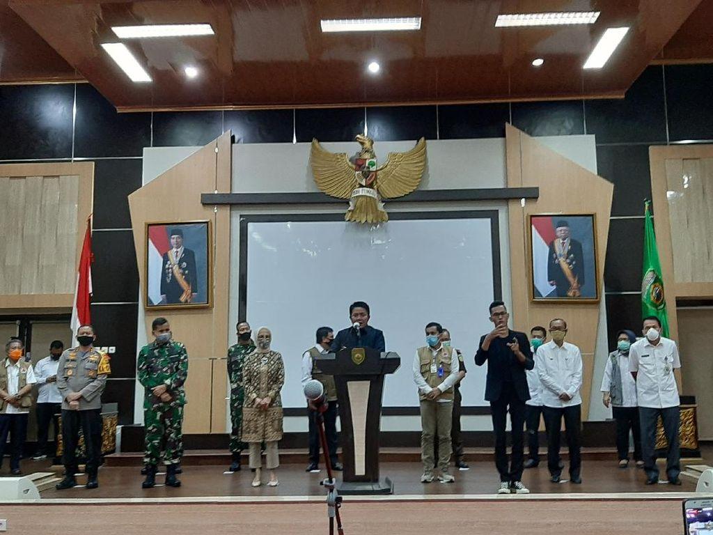 Gubernur Sumsel Beri Waktu Seminggu untuk Buat Aturan PSBB Palembang-Prabumulih