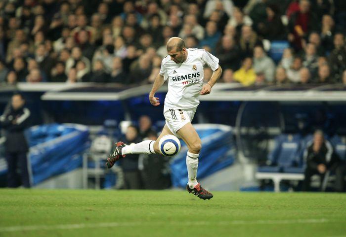 Zinedine Zidane di Real Madrid